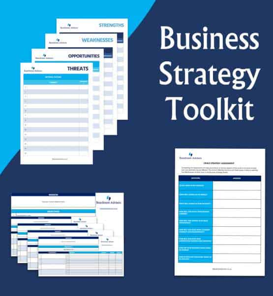 Develop your strategic direction with the Business Strategy Toolkit