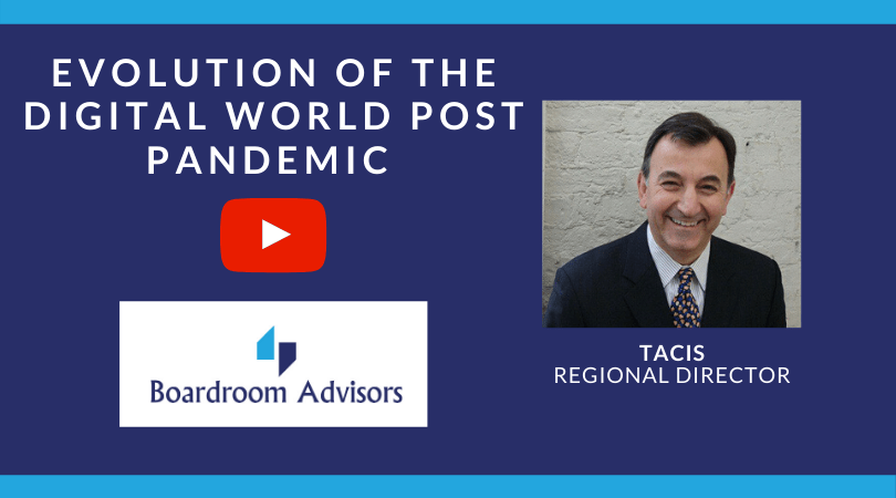 VIDEO – Evolution of the digital world post pandemic