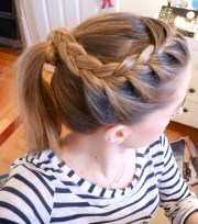hairstyle three angles crown