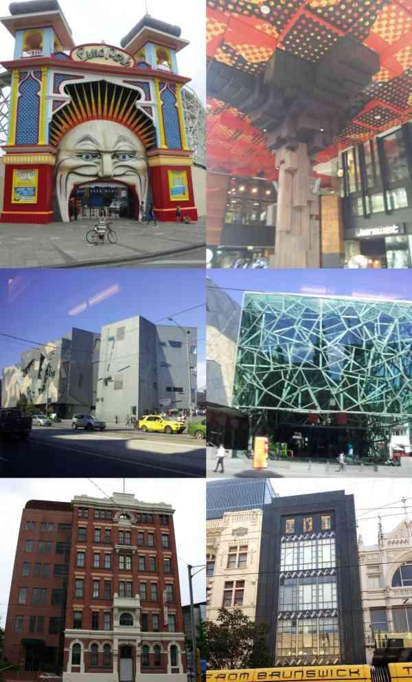 Melbourne Architecture Collage