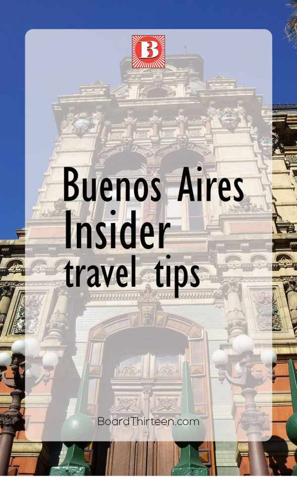 Argentina travel tips
