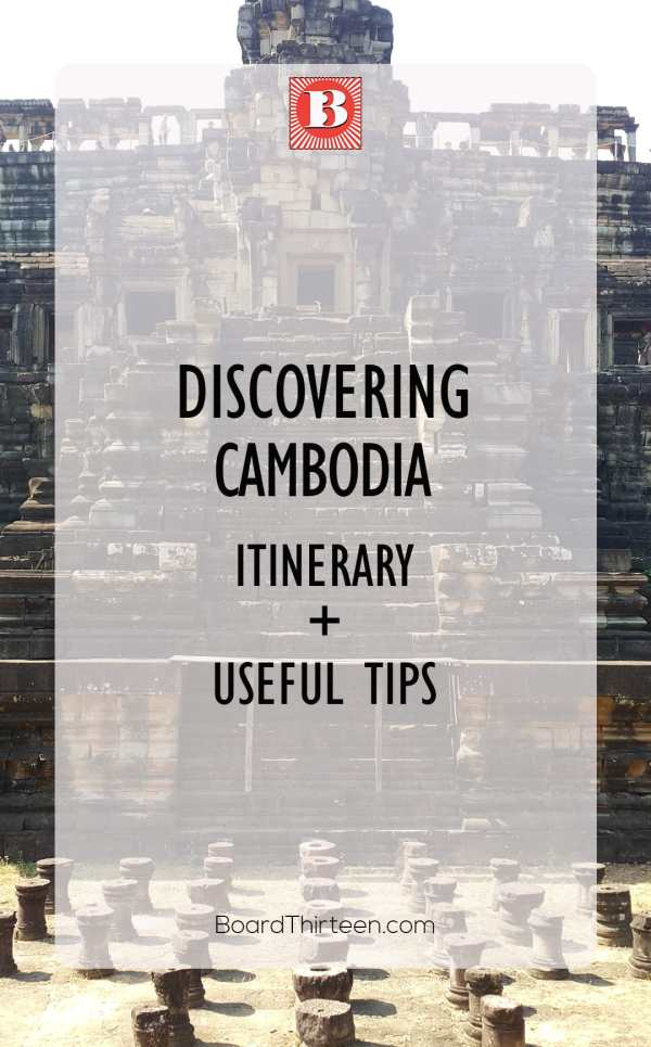 Want to know why you need to go to Cambodia? If you crave a one of kind destination put this one on your list. Until this trip Cambodia remained an enchanted mystery to me. Discover how to travel and what to see in Cambodia in just three weeks with this itinerary!