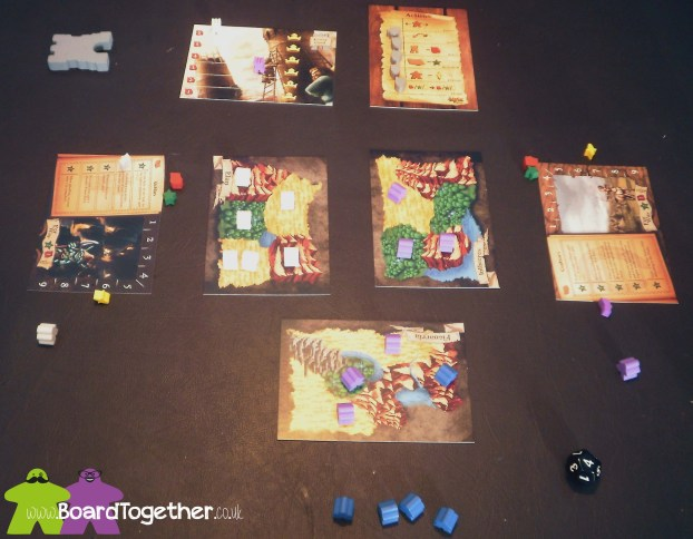 Tiny Epic Kingdoms, Game In Play