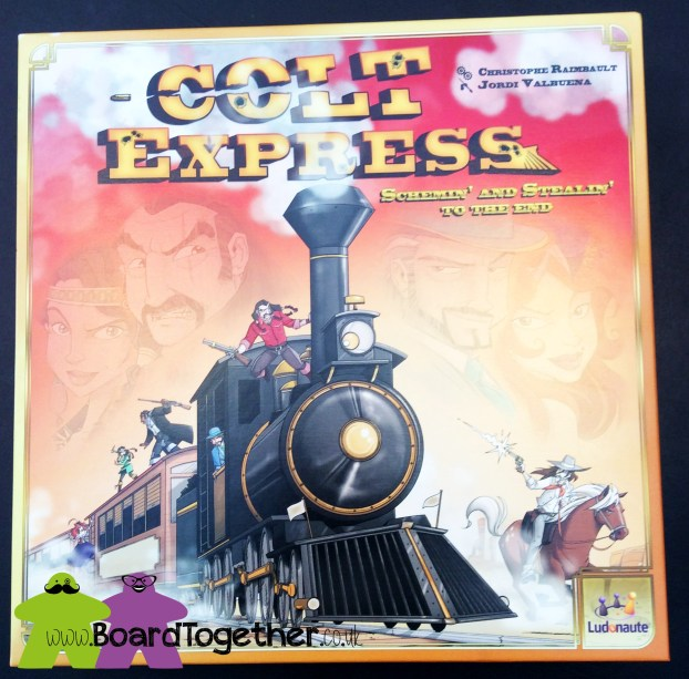 Colt Express, Box Cover Art