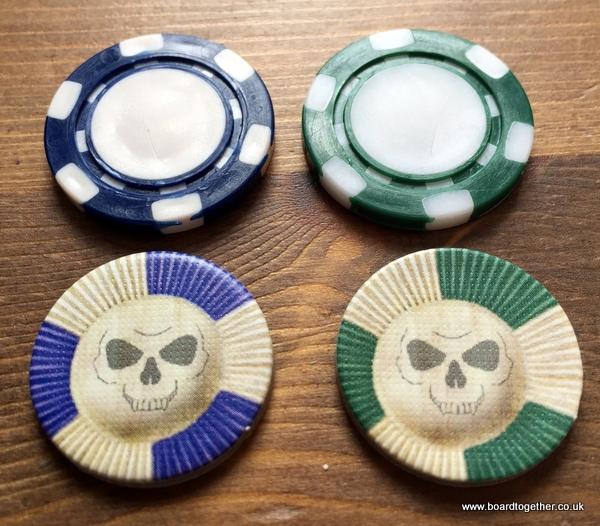 Doomtown poker chips
