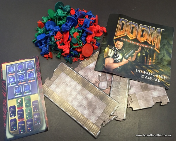 The magnificent DOOM the board game.