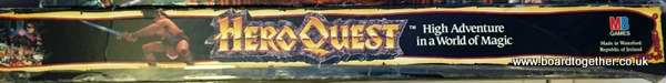 The one and only HeroQuest... Unless you count the Kickstarter version, yeah that one.