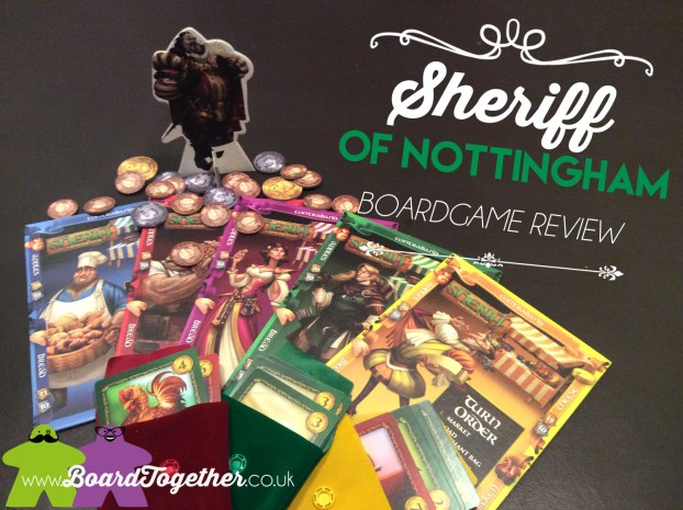 Sheriff of Nottingham, Boardgame Review