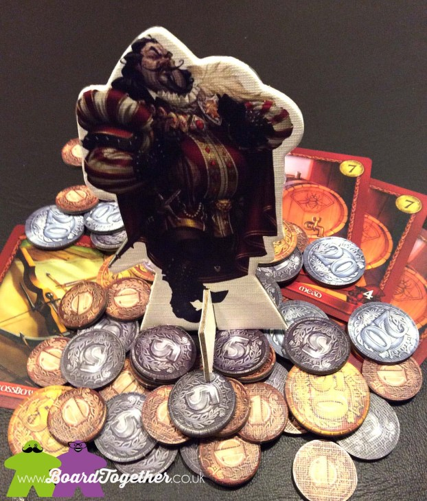 Sheriff of Nottingham, Boardgame, the Sheriff