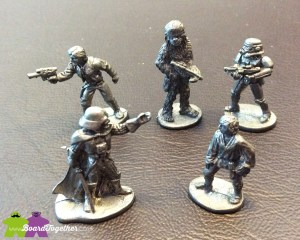 Star Wars Monopoly miniatures