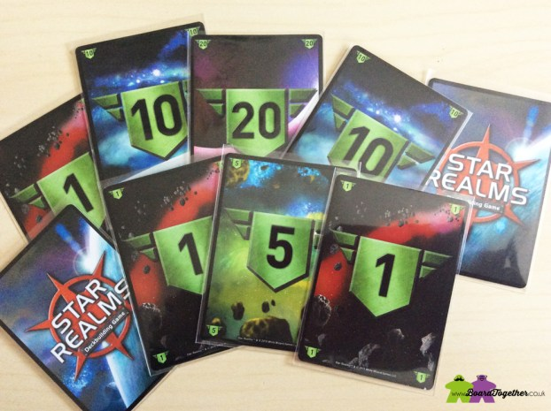 Star Realms Authority Cards