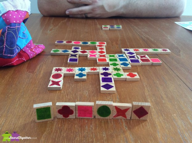 Playing Qwirkle