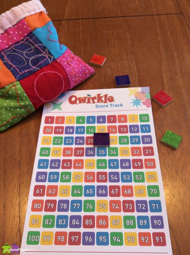 Qwirkle Score Tracker