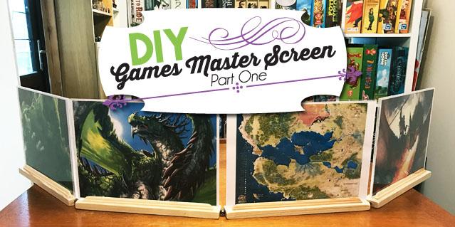 DIY Games Master Screen