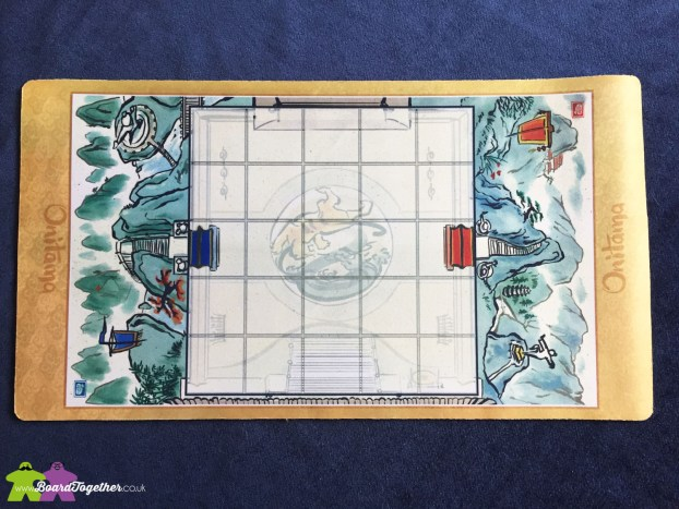 Onitama Boardgame playmat