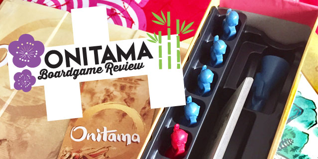 Onitama Boardgame Review