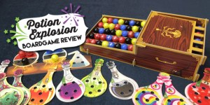 Potion Explosion Boardgame Review