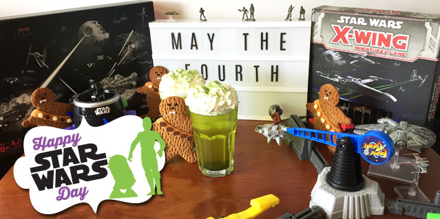 May 4th Star Wars fun