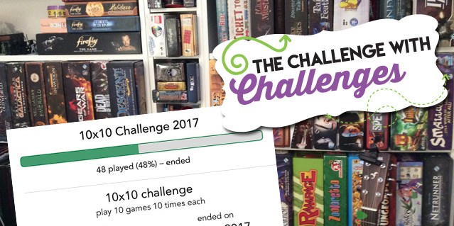 Boardgame Challenges