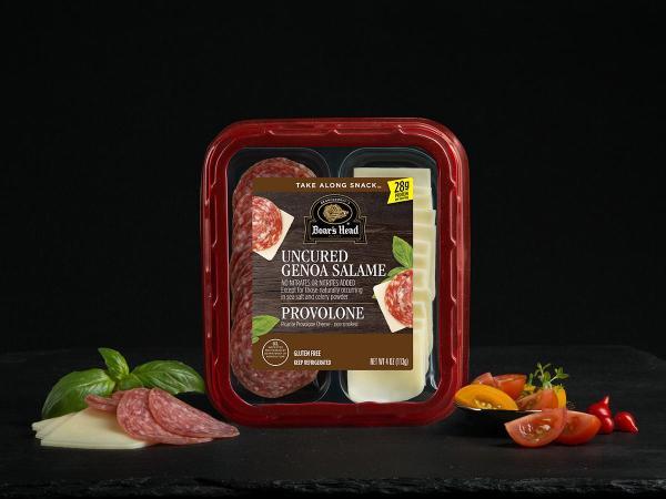 Genoa Salame amp Picante Provolone Cheese Snack Boars Head