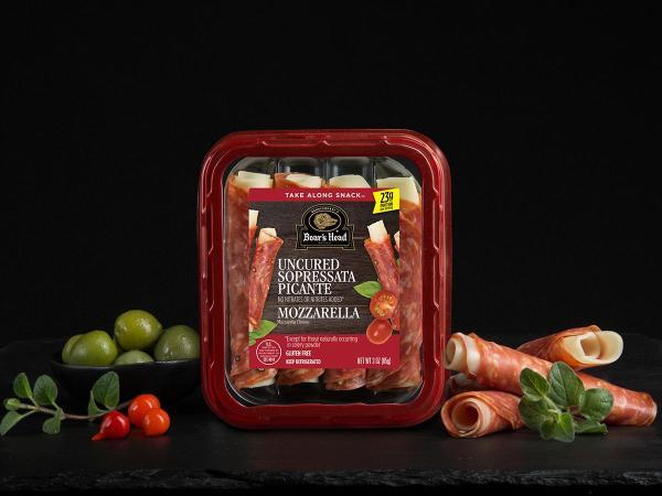 Sopressata Piccante amp Mozzarella Cheese Snack Boars Head
