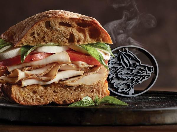 EverRoast Chicken Caprese Sandwich Recipe Boar39s Head