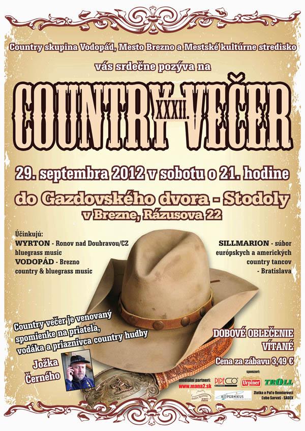 XXXII. Country večer v Brezne
