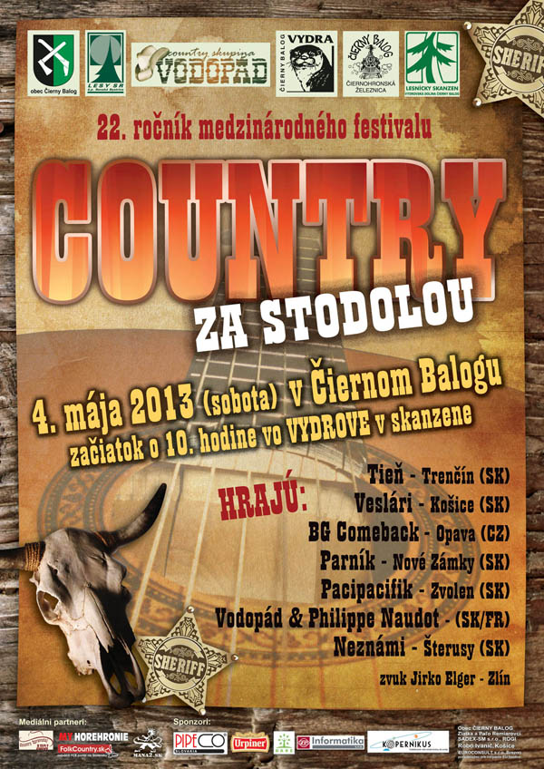 Country za mestskou stodolou 22. ročník