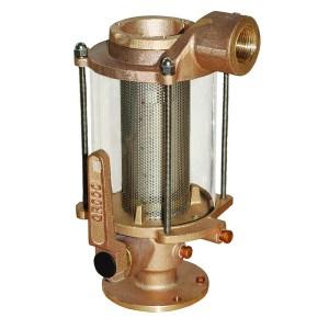 90mm Diameter X 250mm Height WATER INLET STRAINER-BRONZE HULL MOUNTED.1 1//4 BSP