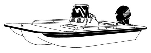 Boat Covers for Center Console Bay Style Fishing Boats