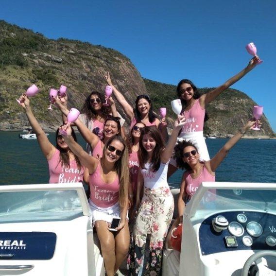 Rio Boat Cruise Despedida de Solteira de Lancha