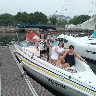 Speed Boat Ride in Rio