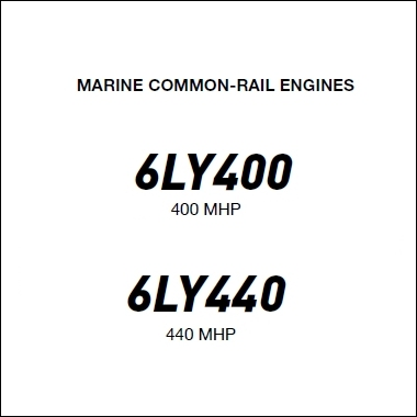 Yanmar 6LY 400 440 Marine Diesel Propulsion Engine