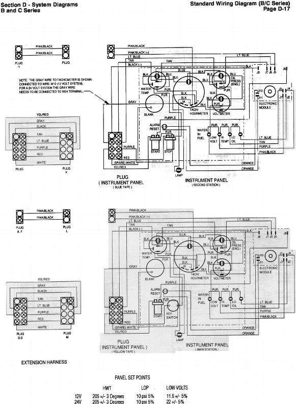 Cummins:B Series Old wiring diagram(attached)