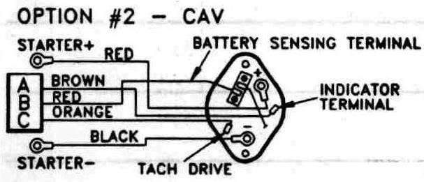 ac5 alternator wiring diagram