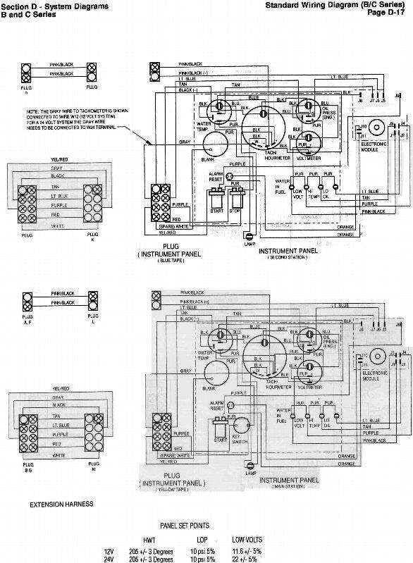 Cummins:B Series 6BTA5.9-M3 wiring diagram