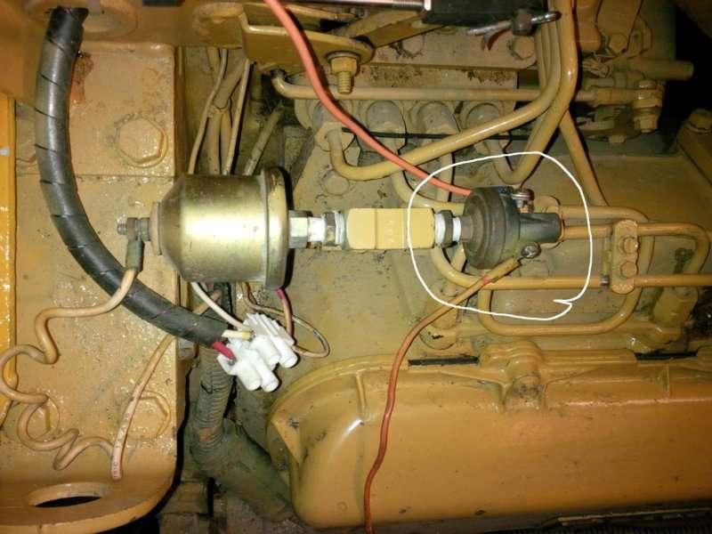 Cat 5 Wiring Voltage Caterpillar 3208 Series 3208t Oil Pressure Switch