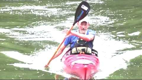 kayak exit for seniors