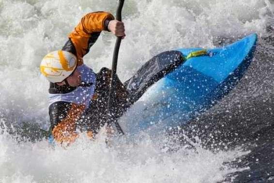 Whitewater Surf Kayak