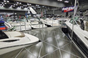 The Sail & Ski Center, winner of the 2012 Top 100 Best Boat Show Strategy Award, puts a lot of time and money into developing an inviting display.