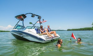 Yamaha sees its competition as all OEMs that focus on family fun products, not just jet-powered boats.