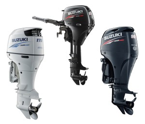 Suzuki is focusing on delivering lighter, more efficient outboards, with a full lineup of four-stroke fuel injection models.