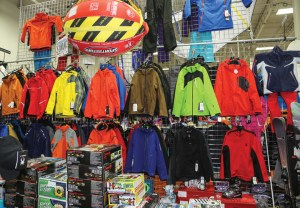 Offering a wide range of winter gear has expanded Omaha Marine Center's customer base.