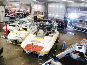 Alberta Marine restarted boat storage after seeing a significant drop in off-season service business soon after ending it. Last year was the company's most profitable year for service.