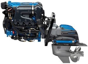"""Ilmor debuted its """"One Drive"""" at the 2016 Miami International Boat Show."""