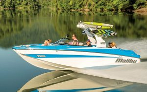 For many buyers the tow boat is replacing the sterndrive-powered bowrider.
