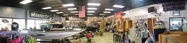 Cleveland Boat Center was remodeled to add office space and improve efficiency.