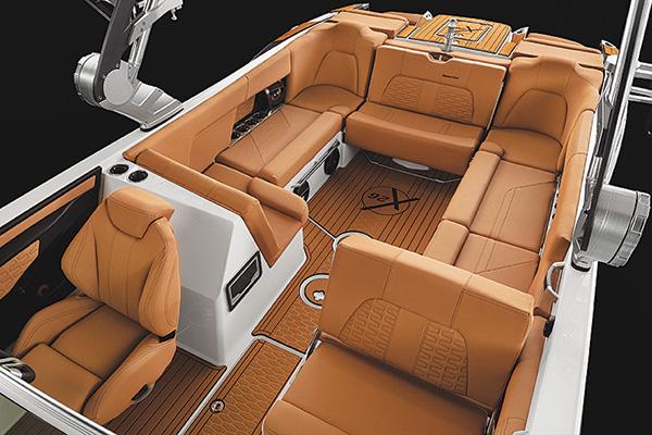Mastercraft X26 Interior Boating Industry