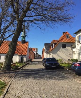 maasholm schlei Germany sky blue boats