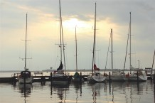 schleimünde schlei Germany marina boats